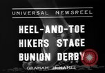 Image of Bunion Derby New York City USA, 1936, second 7 stock footage video 65675053651