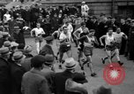 Image of Bunion Derby New York City USA, 1936, second 11 stock footage video 65675053651