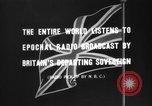 Image of British citizens listen to radio broadcasts London England United Kingdom, 1936, second 8 stock footage video 65675053653