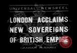 Image of King George VI London England United Kingdom, 1936, second 1 stock footage video 65675053654