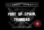 Image of Franklin Roosevelt Port-of-Spain Trinidad, 1936, second 1 stock footage video 65675053656