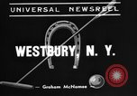 Image of Pete Bostwick Westbury New York USA, 1938, second 4 stock footage video 65675053665