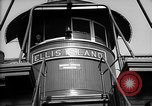 Image of ferry boat Ellis Island New York USA, 1948, second 8 stock footage video 65675053689