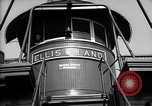 Image of ferry boat Ellis Island New York USA, 1948, second 9 stock footage video 65675053689