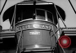 Image of ferry boat Ellis Island New York USA, 1948, second 10 stock footage video 65675053689