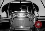 Image of ferry boat Ellis Island New York USA, 1948, second 11 stock footage video 65675053689