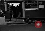 Image of vehicular traffic Rome Italy, 1951, second 3 stock footage video 65675053694
