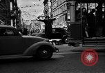 Image of vehicular traffic Rome Italy, 1951, second 4 stock footage video 65675053694