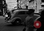 Image of vehicular traffic Rome Italy, 1951, second 5 stock footage video 65675053694