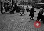 Image of vehicular traffic Rome Italy, 1951, second 8 stock footage video 65675053694
