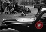 Image of vehicular traffic Rome Italy, 1951, second 9 stock footage video 65675053694