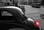 Image of vehicular traffic Rome Italy, 1951, second 10 stock footage video 65675053694
