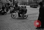 Image of vehicular traffic Rome Italy, 1951, second 11 stock footage video 65675053694