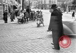 Image of vehicular traffic Rome Italy, 1951, second 12 stock footage video 65675053694