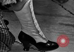 Image of evening shoes Rome Italy, 1951, second 3 stock footage video 65675053695