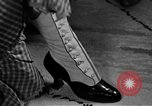 Image of evening shoes Rome Italy, 1951, second 4 stock footage video 65675053695