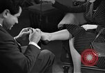 Image of evening shoes Rome Italy, 1951, second 9 stock footage video 65675053695