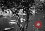Image of Lace doilies Portofino Italy, 1951, second 4 stock footage video 65675053696