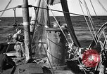 Image of fishing boats Portofino Italy, 1951, second 7 stock footage video 65675053697