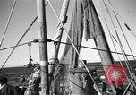 Image of fishing boats Portofino Italy, 1951, second 9 stock footage video 65675053697