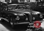 Image of Luxury cars Italy, 1951, second 3 stock footage video 65675053702