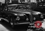 Image of Luxury cars Italy, 1951, second 4 stock footage video 65675053702