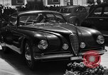 Image of Luxury cars Italy, 1951, second 5 stock footage video 65675053702