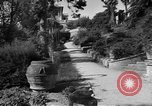 Image of Italian garden Italy, 1951, second 2 stock footage video 65675053704