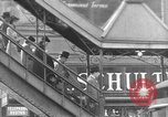 Image of elevated train New York City USA, 1939, second 1 stock footage video 65675053706