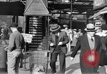 Image of elevated train New York City USA, 1939, second 4 stock footage video 65675053706