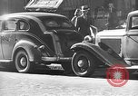 Image of vehicular traffic New York City USA, 1939, second 1 stock footage video 65675053707