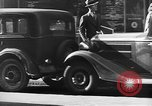 Image of vehicular traffic New York City USA, 1939, second 5 stock footage video 65675053707