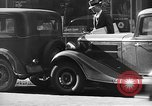 Image of vehicular traffic New York City USA, 1939, second 6 stock footage video 65675053707