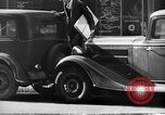 Image of vehicular traffic New York City USA, 1939, second 8 stock footage video 65675053707