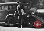 Image of vehicular traffic New York City USA, 1939, second 10 stock footage video 65675053707