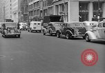 Image of vehicular traffic New York City USA, 1939, second 11 stock footage video 65675053707
