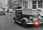 Image of vehicular traffic New York City USA, 1939, second 12 stock footage video 65675053707