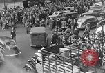 Image of Pedestrians and city traffic New York City USA, 1939, second 5 stock footage video 65675053709
