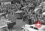 Image of Pedestrians and city traffic New York City USA, 1939, second 7 stock footage video 65675053709