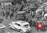 Image of Pedestrians and city traffic New York City USA, 1939, second 8 stock footage video 65675053709