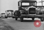 Image of highway traffic jam New York United States USA, 1939, second 2 stock footage video 65675053710