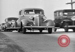 Image of highway traffic jam New York United States USA, 1939, second 3 stock footage video 65675053710