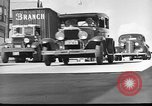 Image of highway traffic jam New York United States USA, 1939, second 4 stock footage video 65675053710