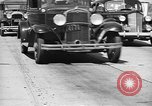 Image of highway traffic jam New York United States USA, 1939, second 5 stock footage video 65675053710