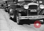 Image of highway traffic jam New York United States USA, 1939, second 7 stock footage video 65675053710