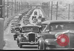 Image of highway traffic jam New York United States USA, 1939, second 8 stock footage video 65675053710