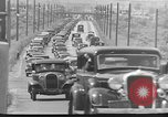 Image of highway traffic jam New York United States USA, 1939, second 9 stock footage video 65675053710