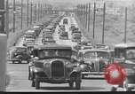 Image of highway traffic jam New York United States USA, 1939, second 10 stock footage video 65675053710