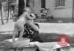 Image of bathing an infant Greenbelt Maryland USA, 1939, second 9 stock footage video 65675053713