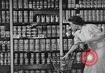 Image of supermarket grocery Greenbelt Maryland USA, 1939, second 4 stock footage video 65675053715